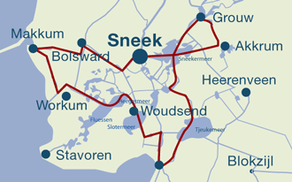 Route Friesland